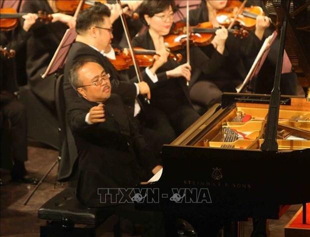 Pianista vietnamita Dang Thai Son sera juez del Concurso internacional de piano hinh anh 1