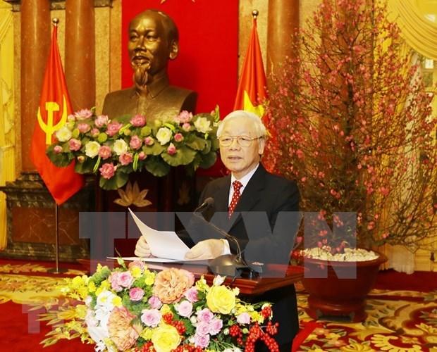 Liderazgo del Partido Comunista, llave para exito de la Revolucion Vietnamita hinh anh 1