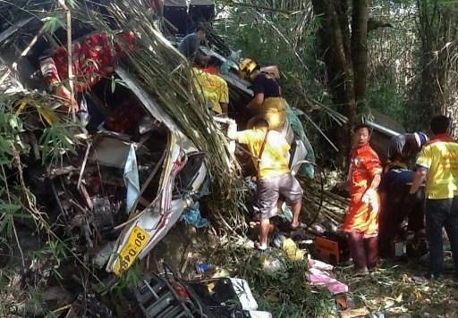 Al menos 19 personas murieron en accidente en frontera Myanmar- Tailandia hinh anh 1