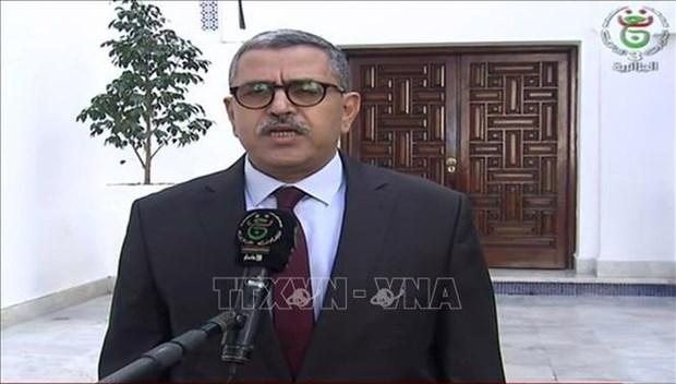 Felicita Vietnam al nuevo primer ministro de Argelia hinh anh 1