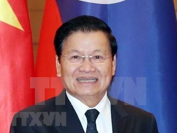 Concluye primer ministro de Laos visita a Vietnam hinh anh 1