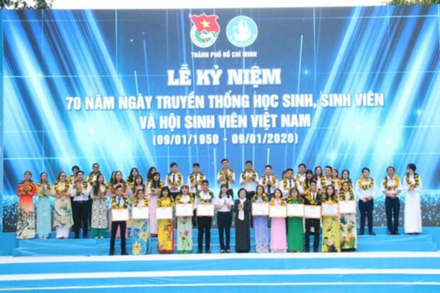 Festejan en Ciudad Ho Chi Minh aniversario del Dia Nacional del Estudiante hinh anh 1
