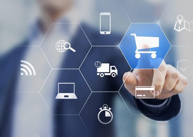 Preven alto crecimiento del comercio electronico de Vietnam en 2020 hinh anh 1