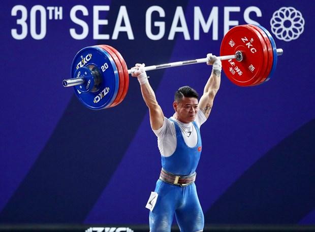 Ganan halteros vietnamitas puntos para clasificacion de Juegos Olimpicos hinh anh 1