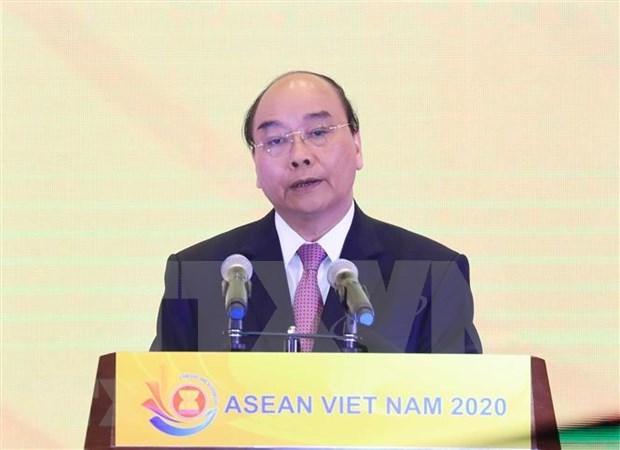 Inician Ano de ASEAN 2020 en Vietnam hinh anh 1
