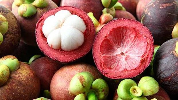 Fortalece Indonesia exportaciones de mangostan de Bali hinh anh 1