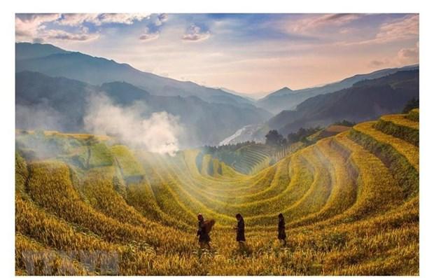 Elige CNBC a Mu Cang Chai en Vietnam atractivo destino para viajeros internacionales hinh anh 1