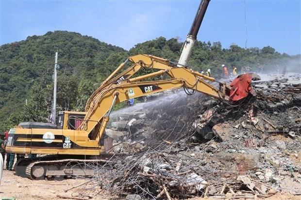 Vietnam expresa solidaridad con Camboya por derrumbe de edificio en provincia de Kep hinh anh 1