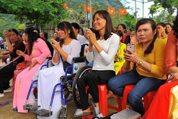 Se esfuerzan provincias vietnamitas por apoyar a discapacitados hinh anh 1