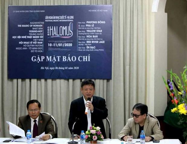 Efectuaran primer festival internacional de musica de Ha Long hinh anh 1