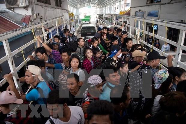 Registra Tailandia nuevo record en numero de rescatados del trafico de personas hinh anh 1