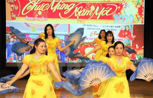 Celebra comunidad vietnamita en Macao fiesta por el Ano Nuevo Lunar hinh anh 1