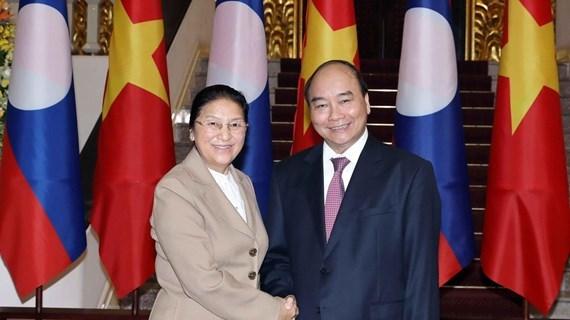 Reitera Vietnam apoyo al pueblo laosiano hinh anh 1