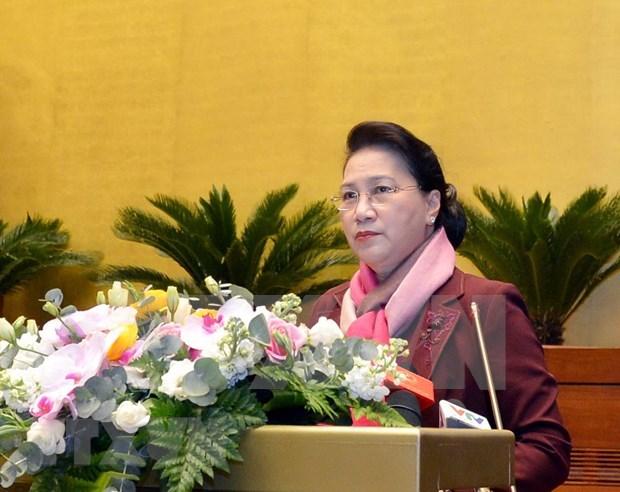 Iniciara Comite Permanente del Parlamento de Vietnam su reunion 41 hinh anh 1