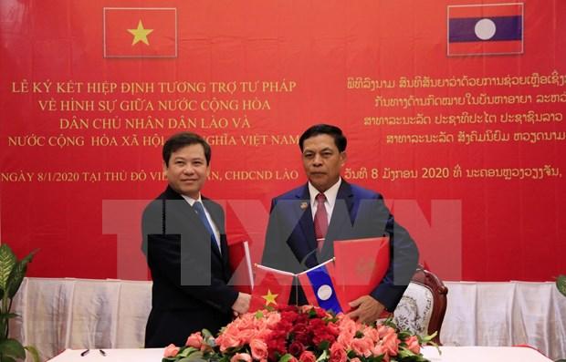 Intensifican cooperacion entre fiscalias populares supremos de Vietnam y Laos hinh anh 1