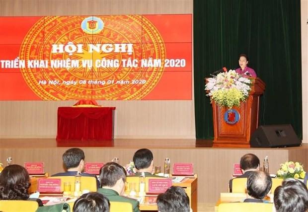 Insta presidenta del Parlamento de Vietnam a incrementar transparencia de la auditoria hinh anh 1