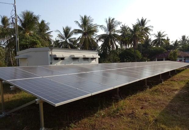 Construiran en Indonesia planta de energia solar por valor de 129 millones de dolares hinh anh 1