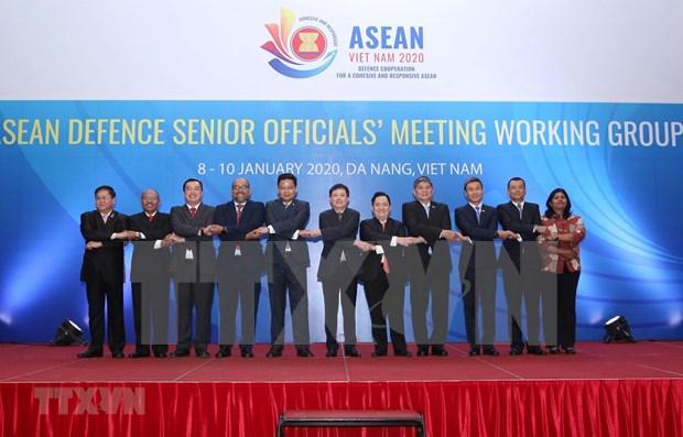 Inauguran Conferencia del Grupo de Trabajo de Altos Funcionarios Militares de ASEAN hinh anh 1
