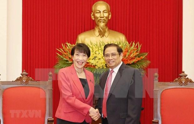 Otorga Vietnam importancia a relaciones de amistad y cooperacion con Japon hinh anh 1