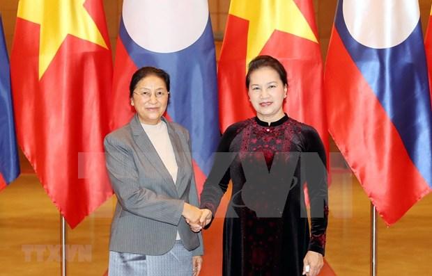 Ratifica Laos apoyo a Vietnam en cargo de presidente de ASEAN hinh anh 1