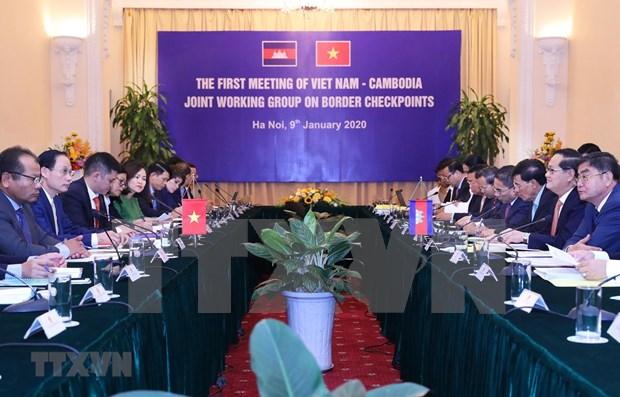 Vietnam y Camboya buscan mejorar sistema de puertas fronterizas hinh anh 1