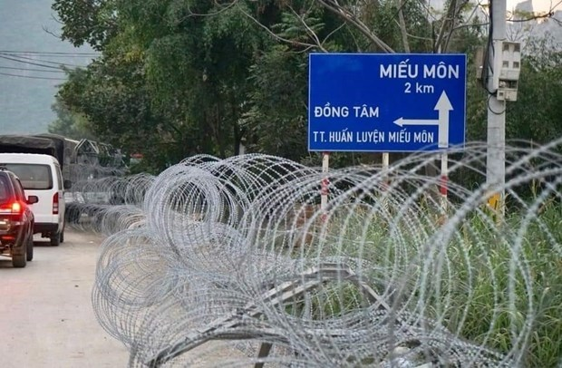 Alerta policia de informaciones erroneas sobre disturbios en comuna suburbana de Hanoi hinh anh 1