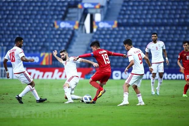 Empatan Vietnam y EAU en ronda final de Campeonato Asiatico de Futbol sub-23 hinh anh 1