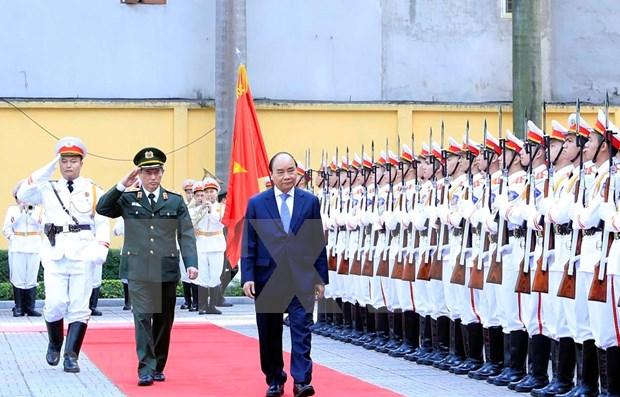 Insta premier de Vietnam a mantener seguridad nacional en cualquier circunstancia hinh anh 1