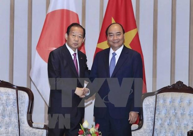 Premier de Vietnam aboga por intensificar lazos economicos y culturales con Japon hinh anh 1