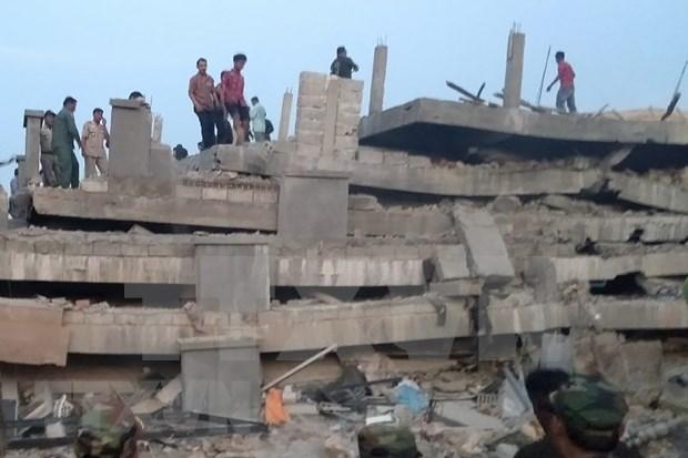 Camboya refuerza gestion de seguridad de construccion hinh anh 1