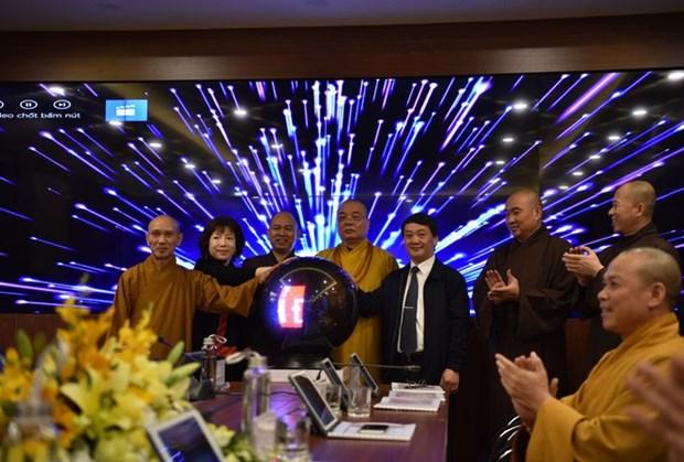 Inauguran centro de operaciones electronicas de Sangha Budista de Vietnam hinh anh 1