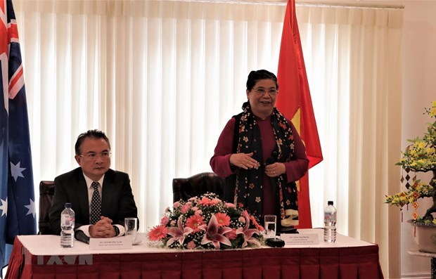 Exhortan a vietnamitas residentes en Australia a preservar valores tradicionales hinh anh 1