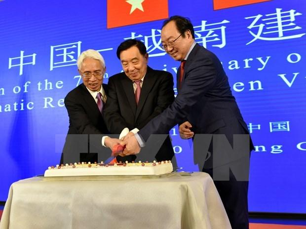 Rememoran en Beijing aniversario 70 de relaciones diplomaticas Vietnam-China hinh anh 1