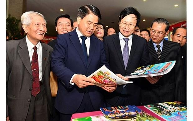 Inauguran Festival Primaveral de Prensa de Hanoi 2020 hinh anh 1