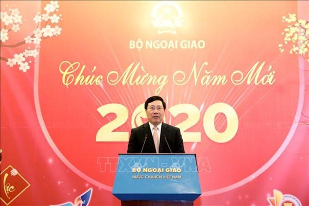 Vicepremier vietnamita destaca aporte de prensa a materializacion de politica exterior hinh anh 1