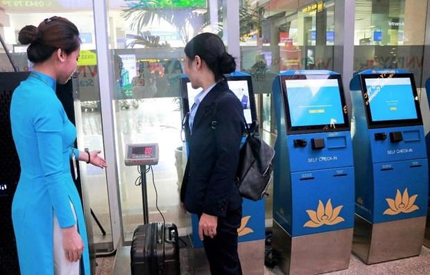 Vietnam Airlines despliega autoservicio para la facturacion de equipaje hinh anh 1