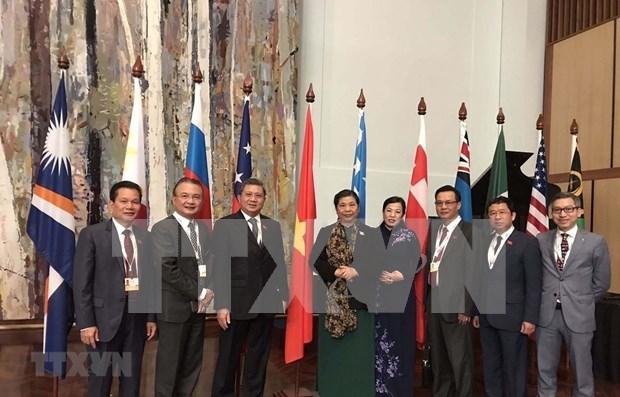 Propone Vietnam promover asociacion interparlamentaria por la paz hinh anh 1