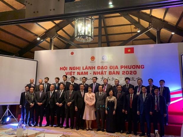 Robustecen cooperacion entre localidades Vietnam-Japon hinh anh 1