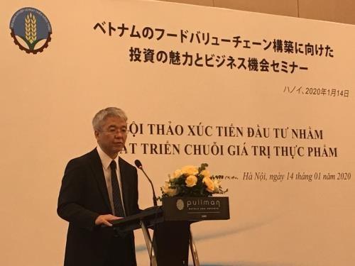 Apoya Japon desarrollo de cadena de valor alimentaria de Vietnam hinh anh 1