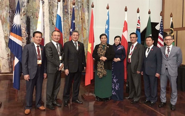 Participa Vietnam en reunion del Foro Parlamentario de Asia- Pacifico hinh anh 1
