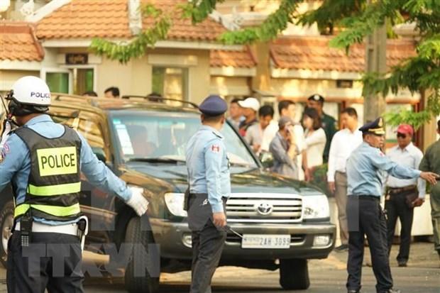 Abren en Camboya juicio contra exlider opositor por traicion hinh anh 1