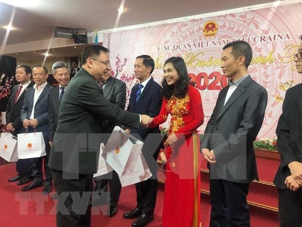 Vietnamitas en ultramar se reunen en ocasion del Tet 2020 hinh anh 1