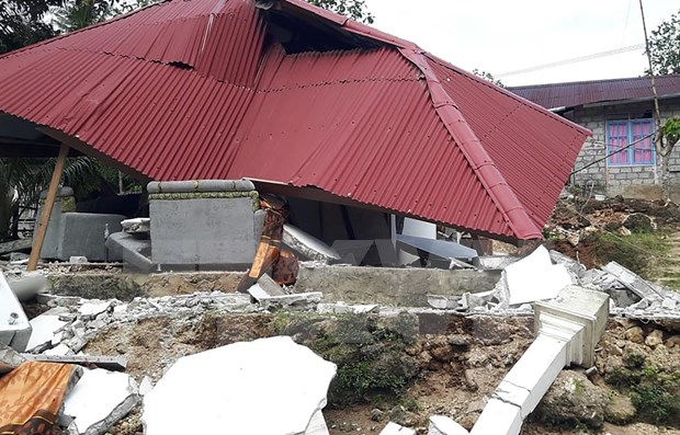 Se registra sismo de magnitud 5,9 en Indonesia hinh anh 1