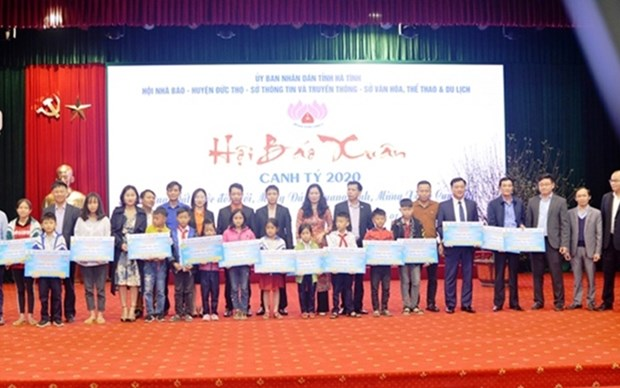 Inauguran en provincia vietnamita Festival Primaveral de Prensa 2020 hinh anh 1