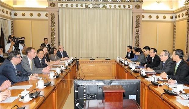 Ciudad Ho Chi Minh aspira a aumentar la cooperacion educativa con Estados Unidos hinh anh 1