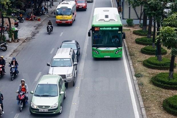 Asistencia internacional a desarrollo de transporte verde en Ciudad Ho Chi Minh hinh anh 1