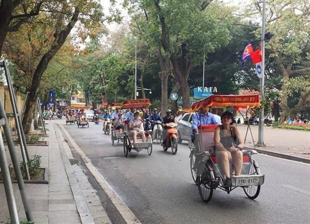 Espera Hanoi recibir a casi 32 millones de turistas en 2020 hinh anh 1