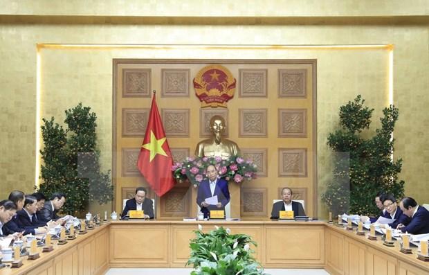 Dirige premier vietnamita reunion de Subcomite Socioeconomico del XIII Congreso del PCV hinh anh 1