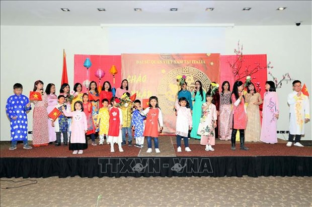 Celebran vietnamitas en ultramar fiestas del Ano Nuevo Lunar hinh anh 1
