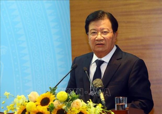 Felicita vicepremier vietnamita a provincia de Vinh Phuc por el Tet hinh anh 1